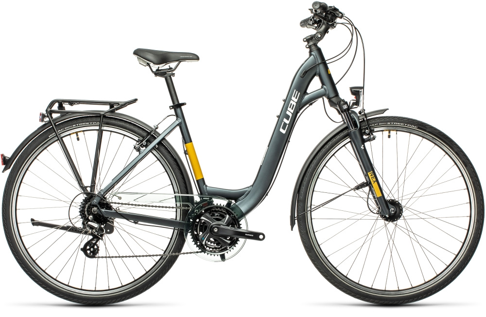 Cube Touring grey'n'yellow Größe: Easy Entry 53 cm / M